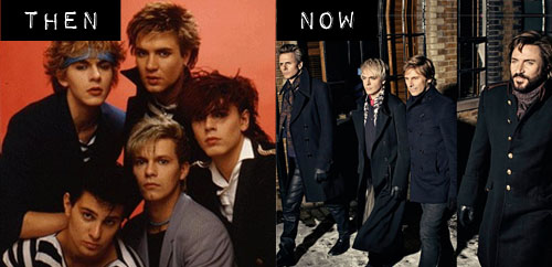 Then & Now: Duran Duran