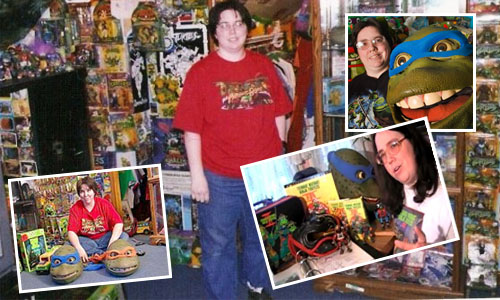 Michele Ivey's TMNT Collection