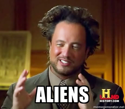 When the aliens show up, you know it jumped the shark.