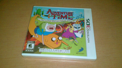 3DS Adventure Time