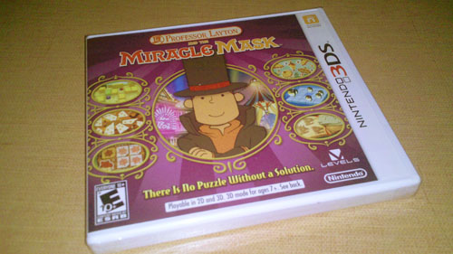 3DS Professor Layton Miracle Mask