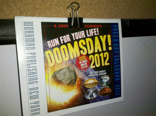 Friendly Doomsday Reminder