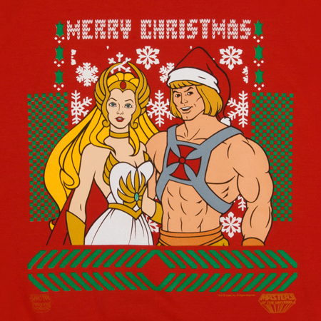 The Most Powerful Christmas Sweater in the Universe!