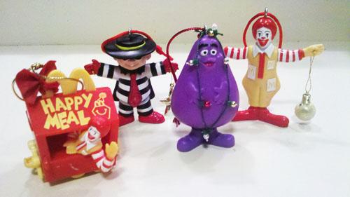McDonald's Christmas Ornaments