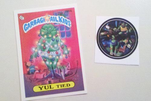 Garbage Pail Kids & TMNT Stickers