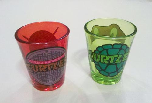 TMNT Shot Glass - Back