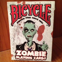 Best $3 I Ever Spent: Bicycle Zombie Playing Cards