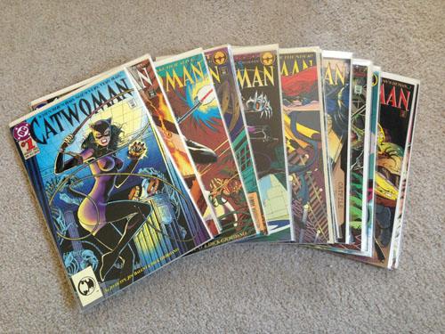 Catwoman Comic Books