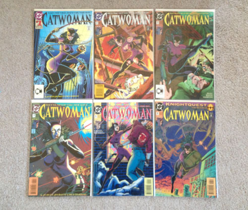 Catwoman Comics, Group 1