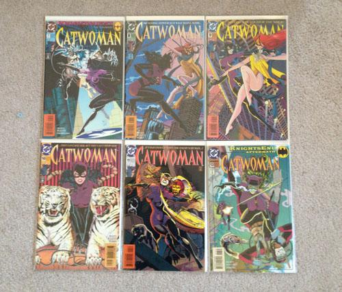 Catwoman Comics, Group 2