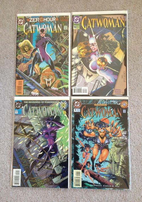 Catwoman Comics, Group 3