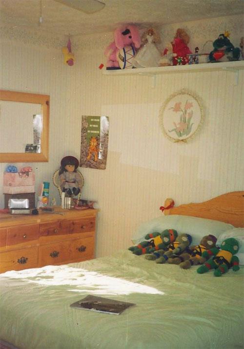 My Bedroom in 1989