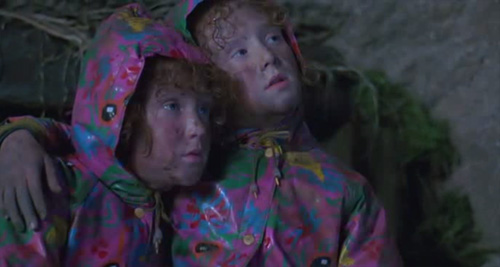 Twins Stuck in the Old Mineshaft