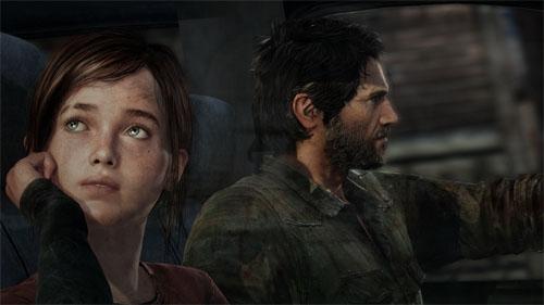 Ellie and Joel - The Last of Us