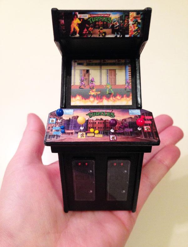 TMNT Mini Arcade Cabinet