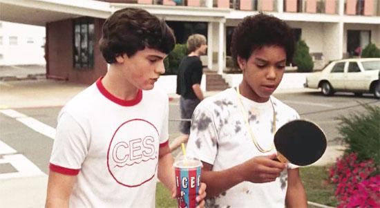 Rad & Teddy in 'Ping Pong Summer'