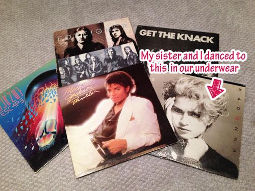 80s-vinyl-records-madonna-michael-jackson