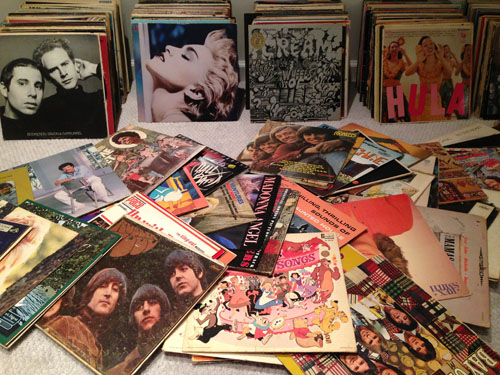 family-vinyl-record-collection