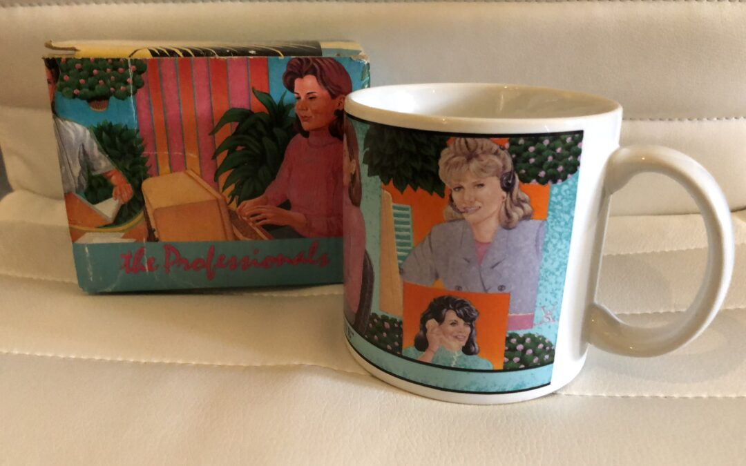 I need shoulder pads to go with this amazingly tacky mug