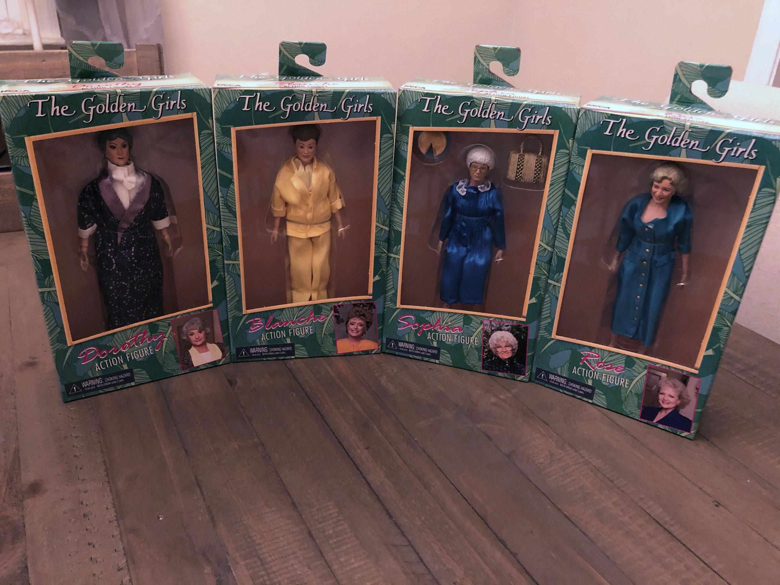 """Golden Girls 8"""" NECA Action Figures"""
